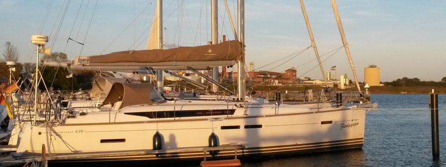 "Sun Odyssey 439 in Heiligenhafen ""Fleutjepiepen"""