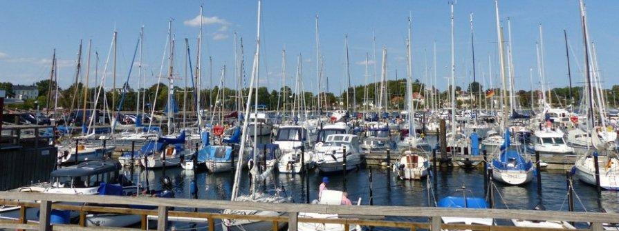 Eckernförde Stadthafen im Jaich