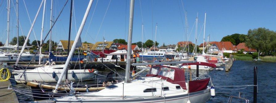 Yachthafen Breege