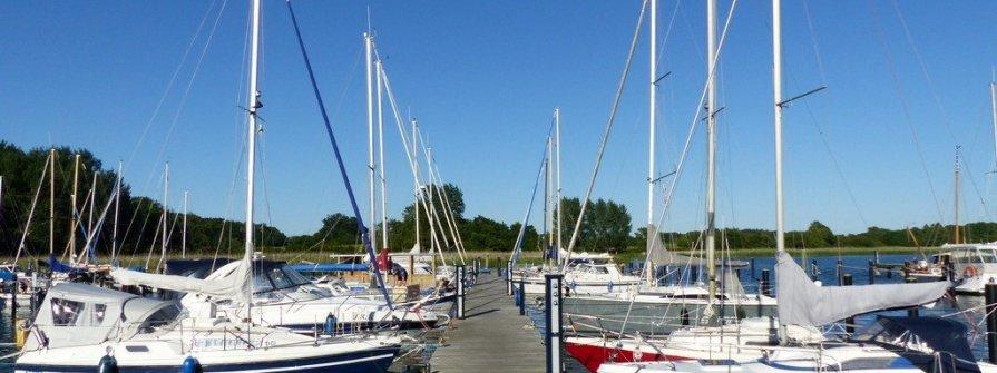 Yachthafen Gustow