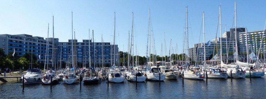 Yachtcharter im Ostseebad Damp