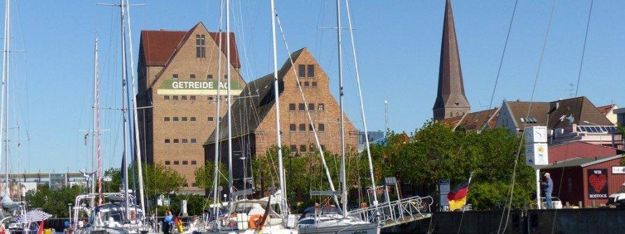 Charterstützpunkt Rostock Stadthafen