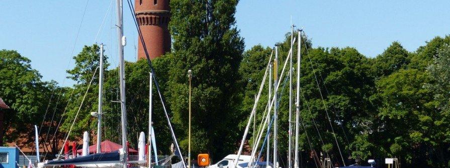 Marina Basen Północny in Swinemünde