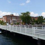 Kiel - Sporthafen Reventloubrücke