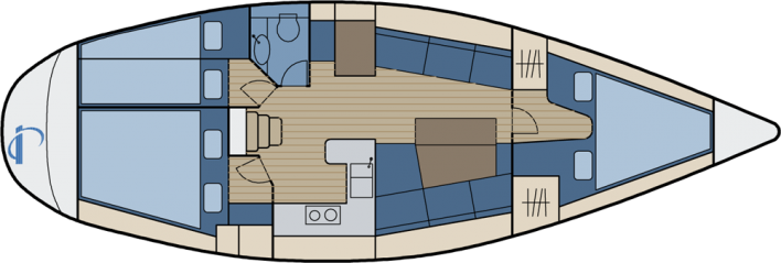 First 375 - 3cabin