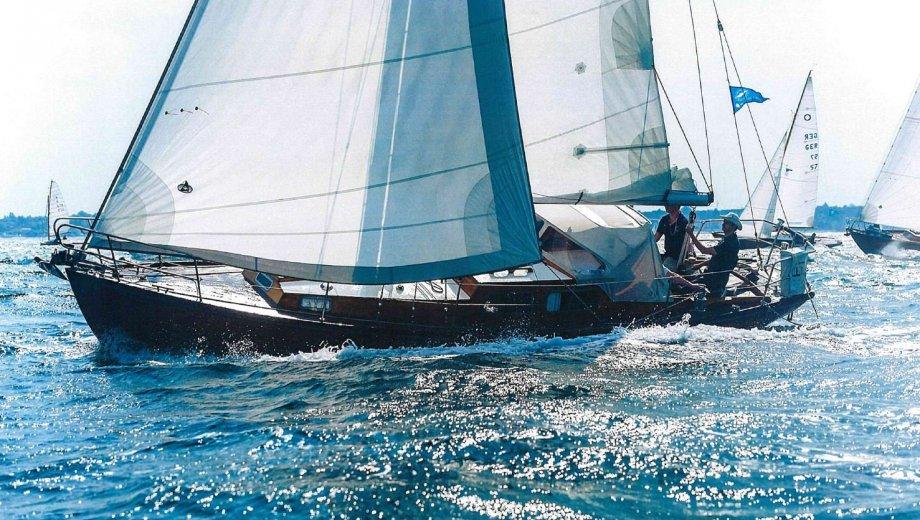 "Mahag. Kreuzer 31 in Schlei ""Nautilus"""