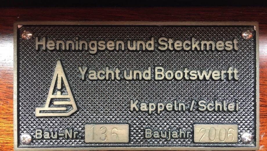 "Scalar 34 in Kappeln ""Claassen"""
