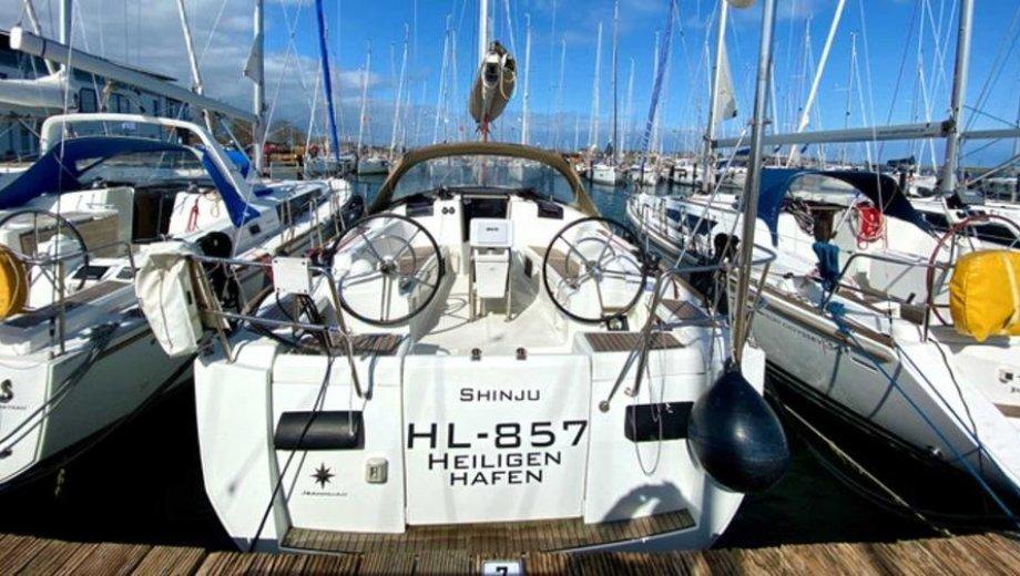 "Sun Odyssey 409 in Flensburg ""Shinju"""