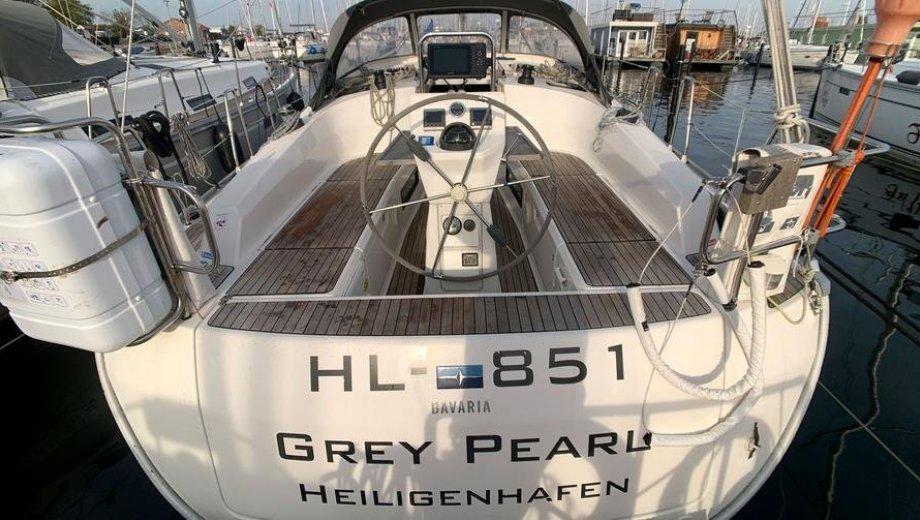 """Bavaria cruiser 36 in Heiligenhafen """"Grey Pearl"""""""