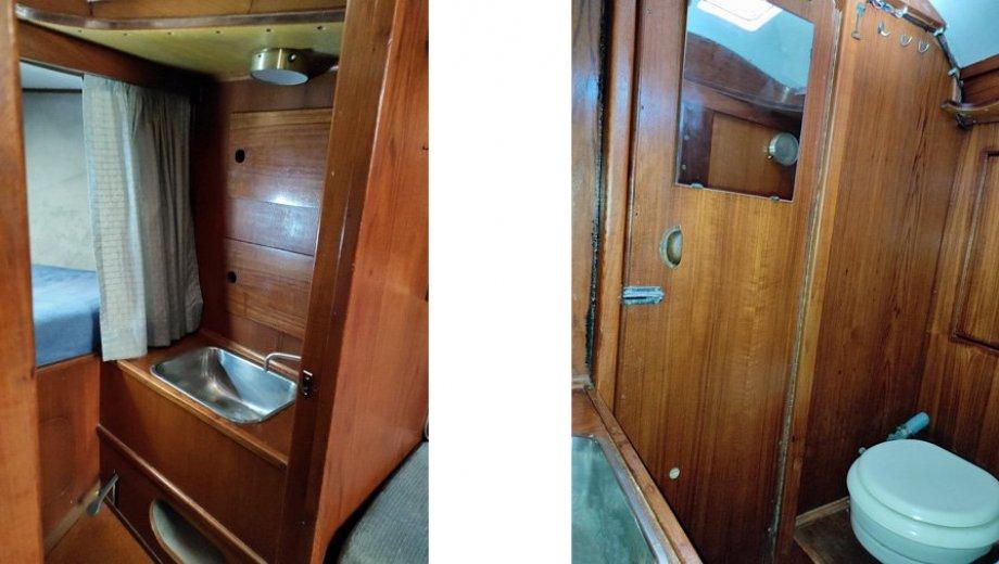 """Elvström 32 cruiser in Barth """"Ragazza"""""""