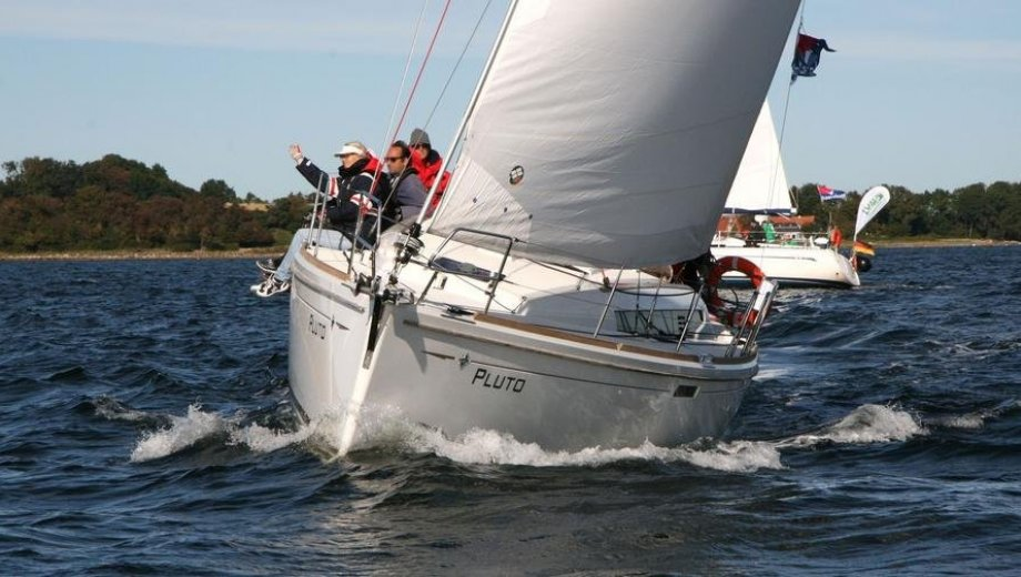"Sun Odyssey 379 in Flensburg ""Pluto"""