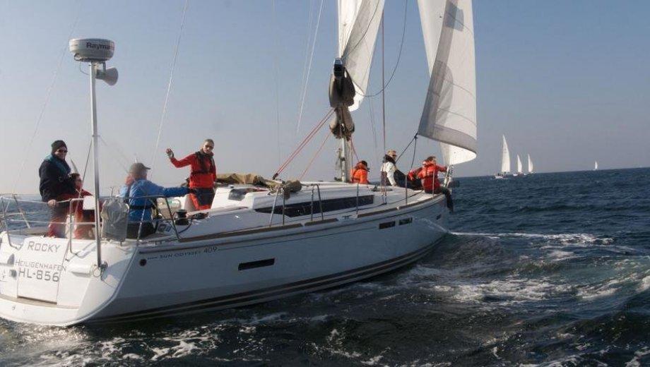 "Sun Odyssey 409 in Flensburg ""Rocky"""