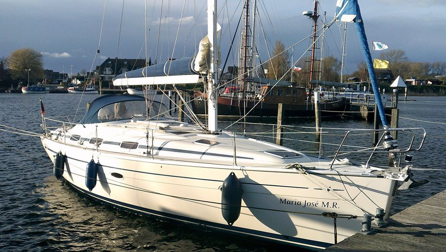 "Bavaria 39 cruiser in Laboe ""Maria José M.R."""