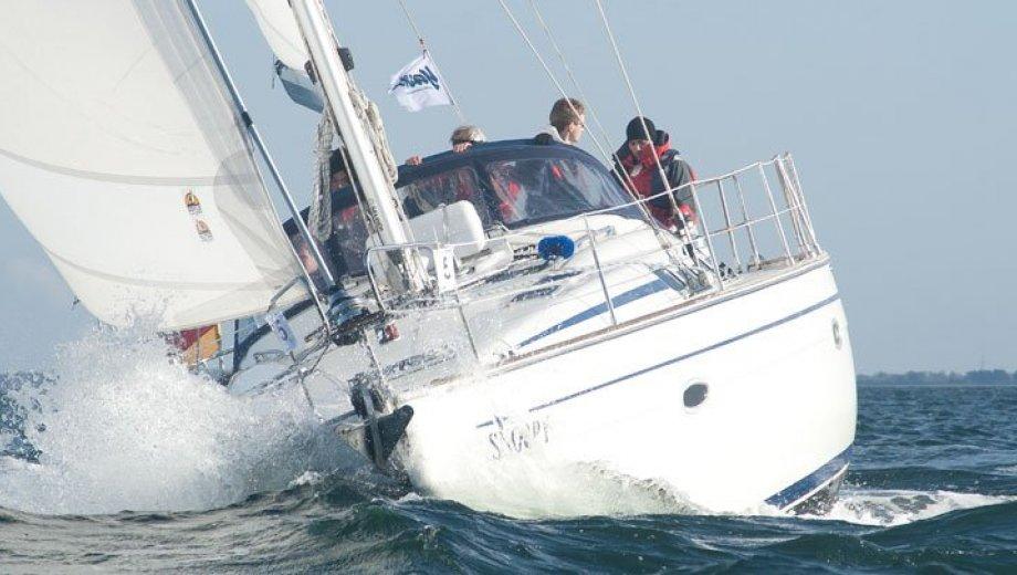 """Bavaria 46 cruiser in Heiligenhafen """"Snoopy"""""""