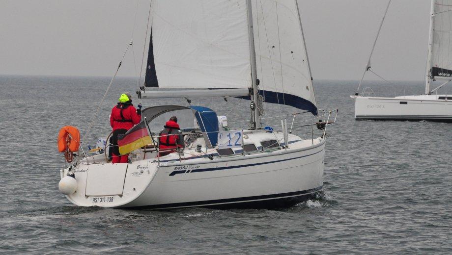 "Bavaria 31 cruiser in Burgtiefe/Fehmarn ""Poseidon 1"""