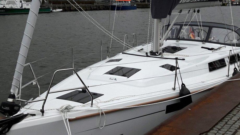 """Hanse 415 in Flensburg """"auszeit"""""""