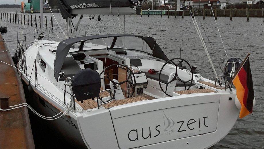 """Hanse 415 in Laboe """"auszeit"""""""