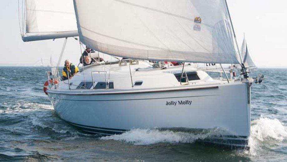 """Hanse 370 in Neustadt in Holstein """"Jolly Molly"""""""