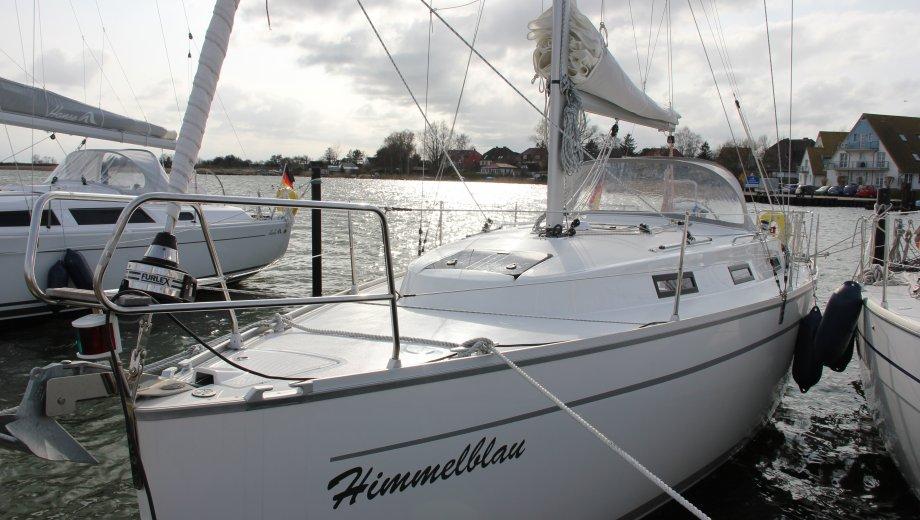 """Bavaria cruiser 32 in Heiligenhafen """"Himmelblau"""""""