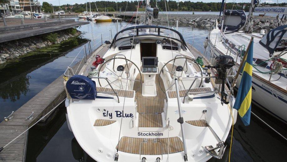 "Bavaria 50 cruiser in Stockholm ""Blue"""