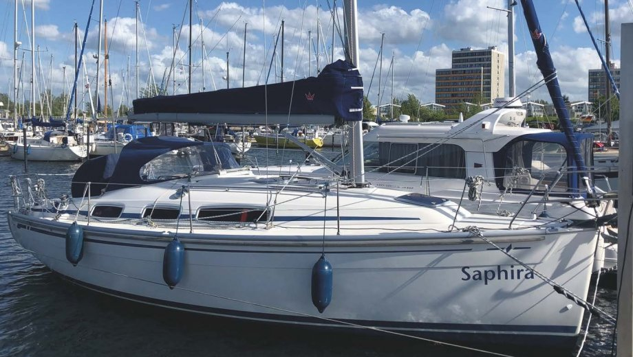 "Bavaria 31 cruiser in Wendtorf ""Saphira"""