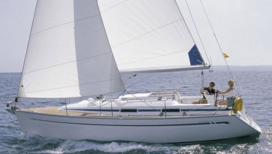 """Bavaria 31 cruiser in Flensburg """"Seepocke"""""""