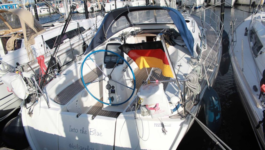 "Bavaria 38 cruiser in Flensburg ""Into The Blue"""