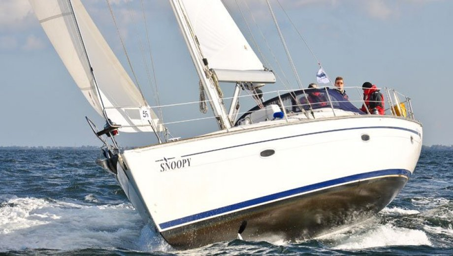 "Bavaria 46 cruiser in Heiligenhafen ""Snoopy"""
