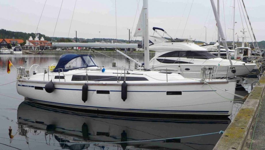 "Bavaria cruiser 37 in Stralsund ""Blue Passion"""