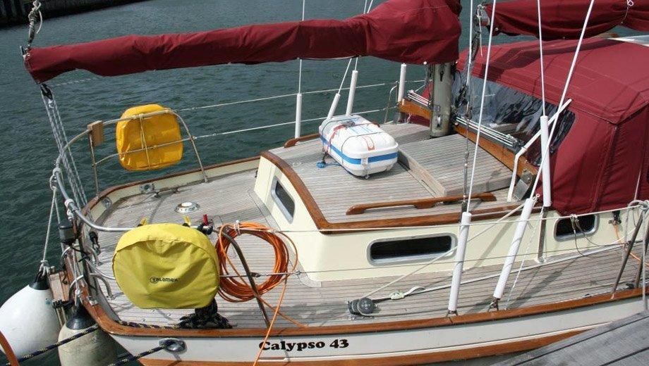 """Calypso 43 in Heiligenhafen """"Leandra"""""""