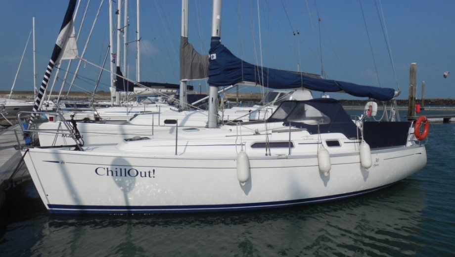 """Dufour 30 classic in Flensburg """"Chill Out!"""""""