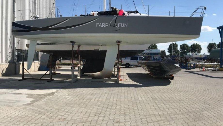 "Farr 40 in Kiel ""Farr-Laessig"""