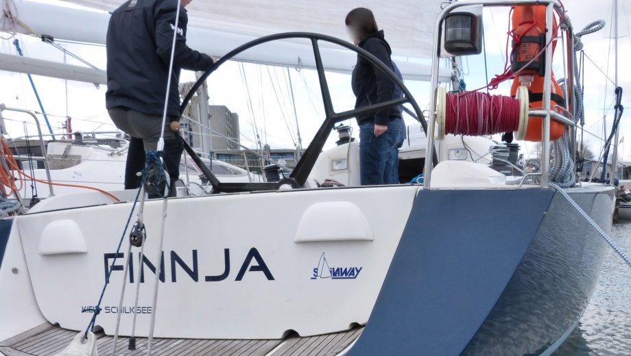 """X-40 IMX in Kiel """"Finnja"""""""