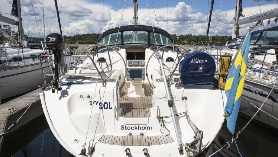 "Bavaria 42 cruiser in Stockholm ""Sol"""