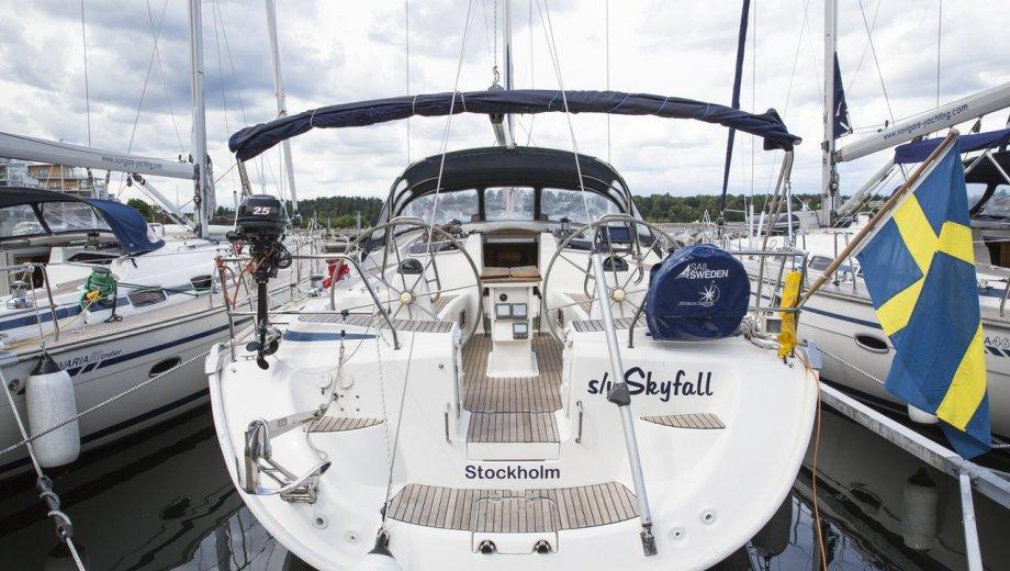 """Bavaria 50 cruiser in Stockholm """"Skyfall"""""""