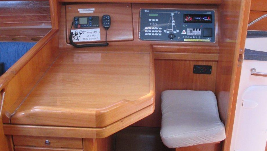 "Bavaria 31 cruiser in Heiligenhafen ""Poseidon 1"""