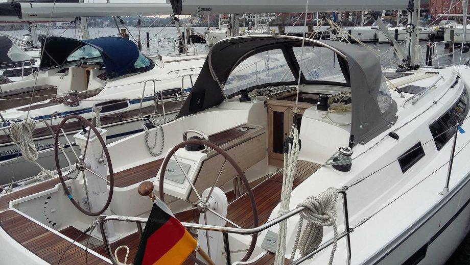"Bavaria cruiser 37 in Flensburg ""Emma"""