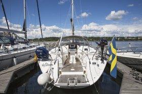 "Bavaria cruiser 40 in Stockholm ""Storm"""